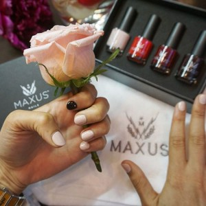 Having the best EmpowerHour with maxusnails Wearing shade Adored withhellip
