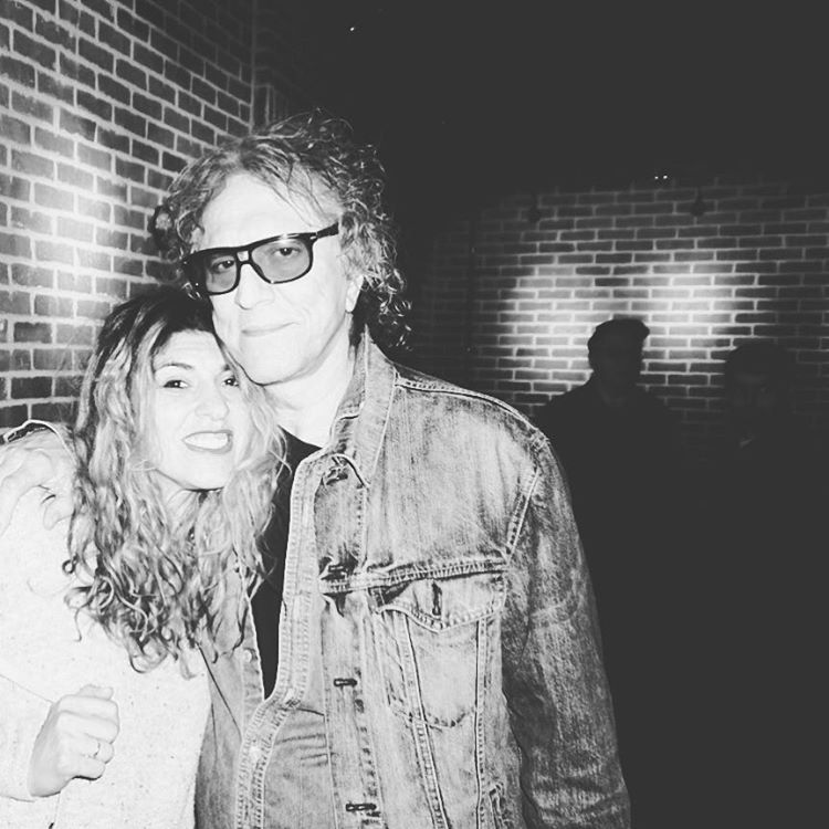 It's an honor to breathe the same air as @therealmickrock -- a photo I'll cherish.
