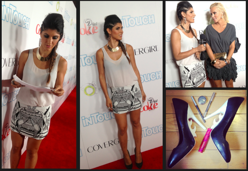 Lara Eurdolian, VMAs, Covergirl red carpet corespondent, Icons and Idols