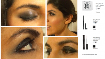 Mary Kay smoky eye
