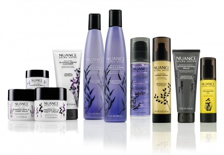 Nuance Salma Hayek Launches Skincare Collection Exclusive to CVS!