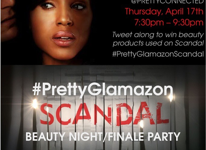 You're Invited: #PrettyGlamazonScandal Season 3 Finale Tweet-Up