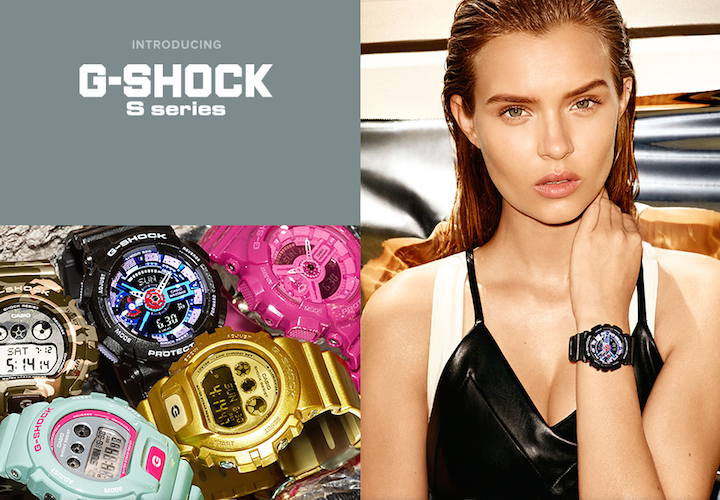 Casio G-Shock Launches S SERIES for Her