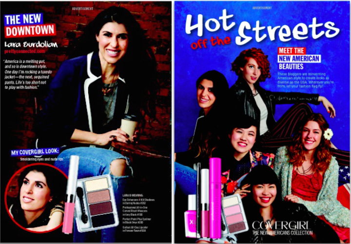 PC Featured in COVERGIRL Campaign for the September Issue of Cosmopolitan!!!!