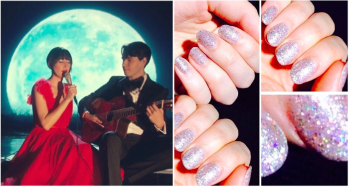 Karen O Oscars Knock Out manicure