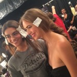 backstage at Mara Hoffman
