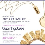 Jet Set Candy Trunk Show at Bloomingdale's