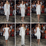Christian Siriano white dress at NYFW