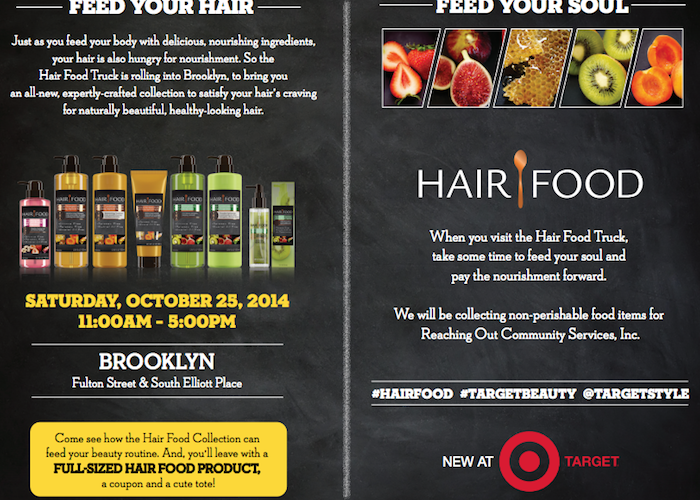 Join me at the Hair Food Truck this Saturday for Your FREE Full-Size Product