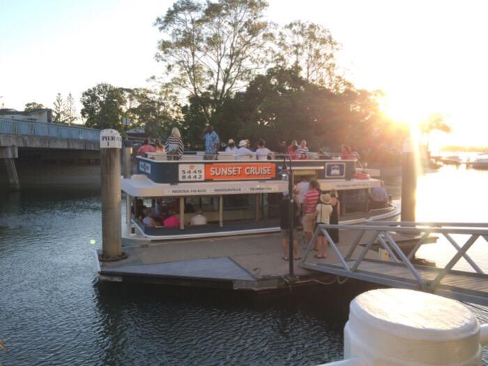Sunset Cruise in Noosa