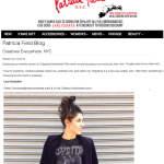 Pretty Connected featured on Patricia Field Blog