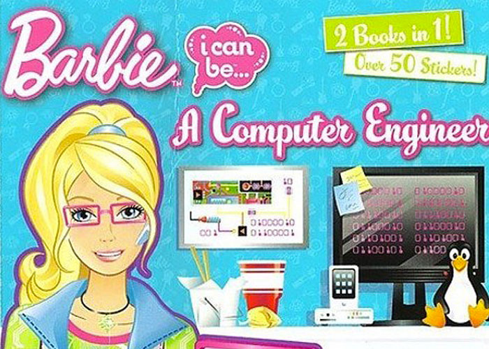 Feminist Hacker Barbie: Fighting Misogyny with Misandry?