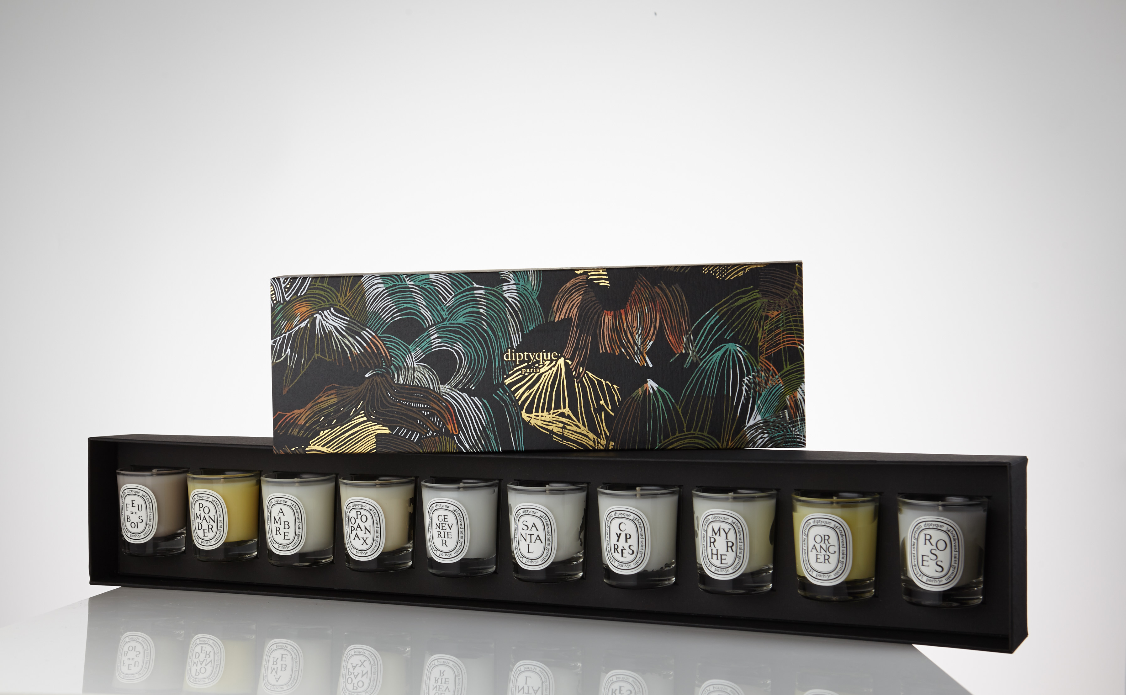 diptyque holiday candle set