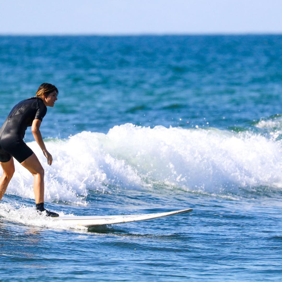 After my herniated disc surgery I never thought I'd be back on a boardNow #ontheblog a recap of my action packed trip to Montauk with @clifbarcompany + tips on how to stay energized. #feedyouradventure @gervish