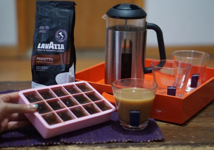 lavazza coffee ice cubes