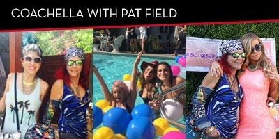 Coachella With Pat Fields