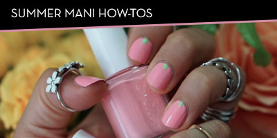 Summer Mani How To's
