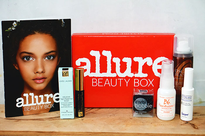 Allure subscription beauty box