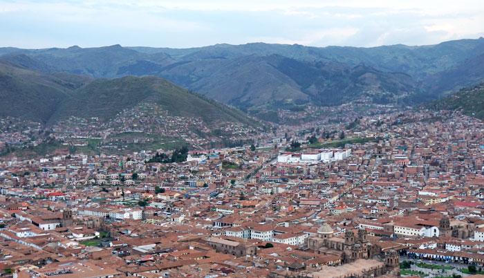 Cusco Bird's Eye View
