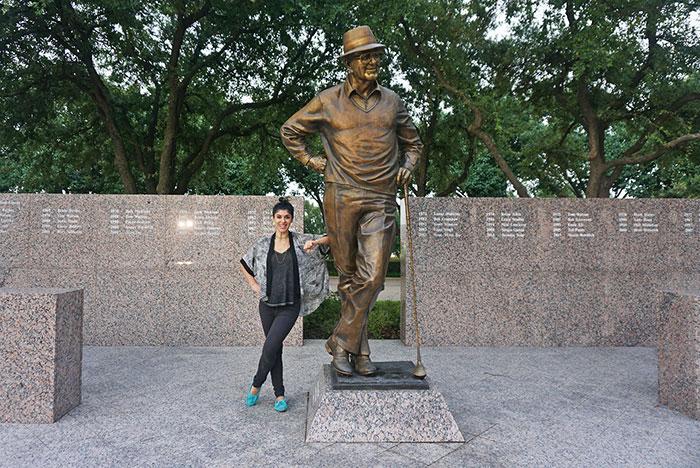 four seasons dallas Byron Nelson statue