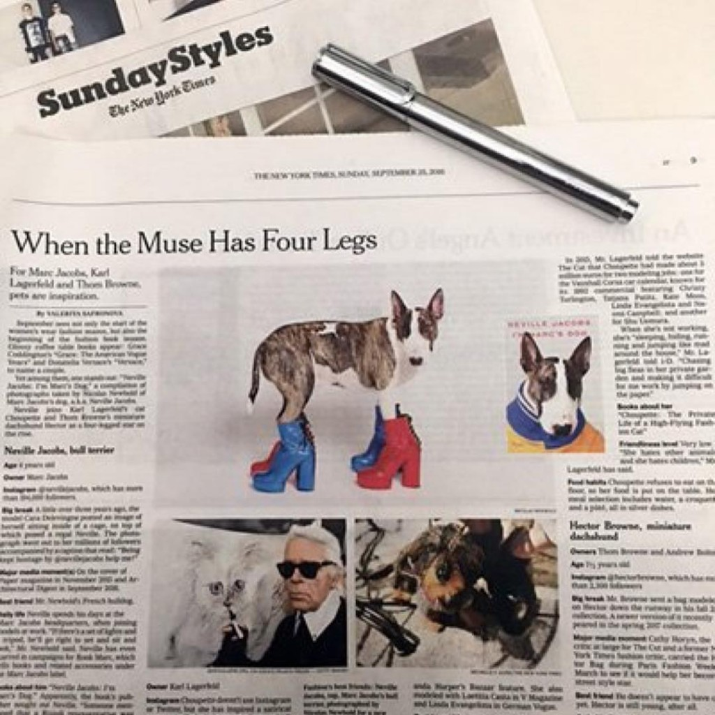 ICYMI I was featured in the nytimesfashion Sunday Style sectionhellip
