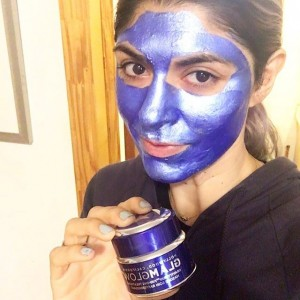 Taking the new Limited edition SonicStyles themed GlamGlow Gravity Mudhellip