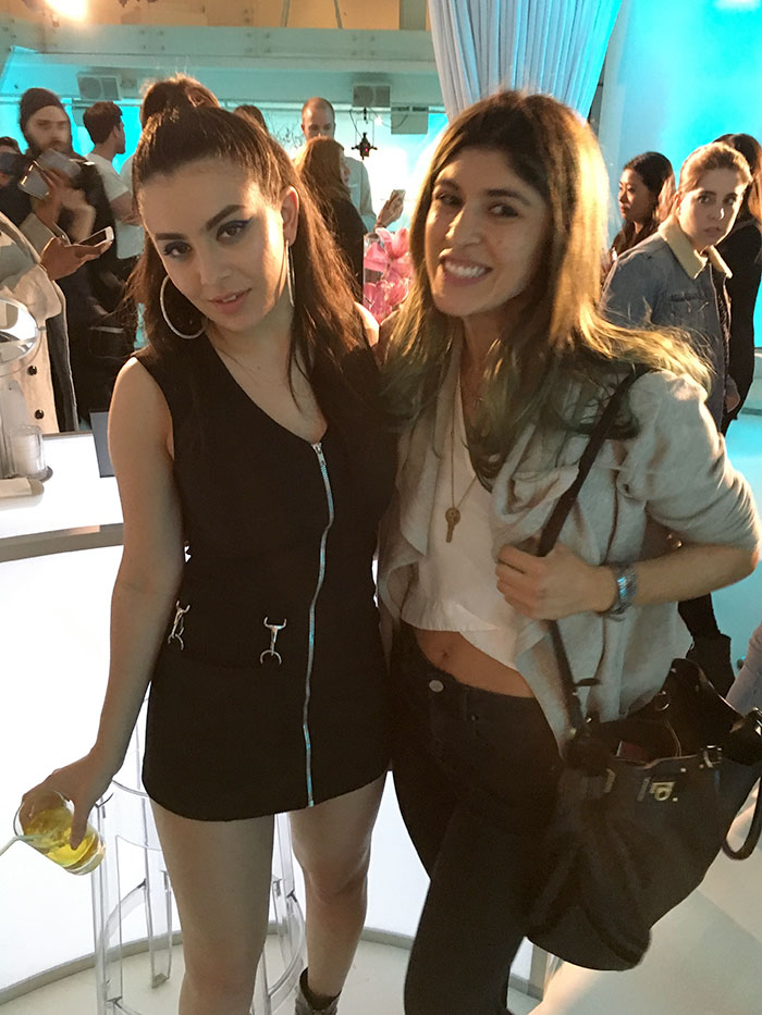 Charlie-XCX-Lara-Eurdolian-at-Make-up-for-ever-aqual-xl-launch-party