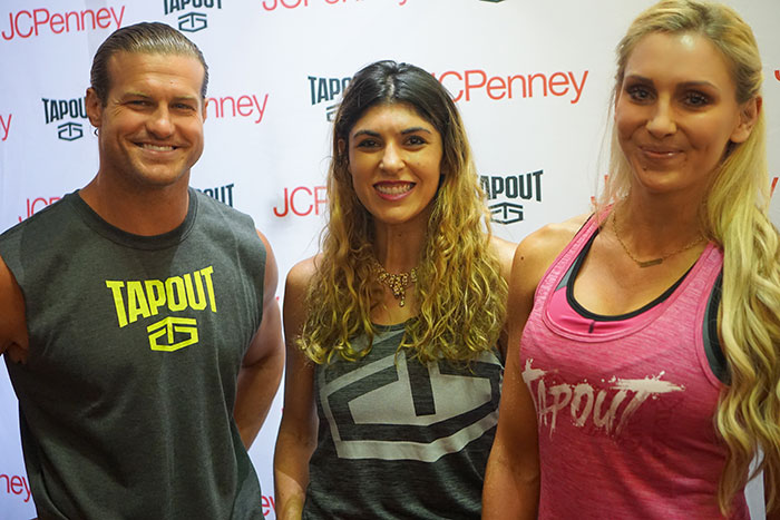 dolph-ziggler-and-charlotte-lara-eurdolian-tapout-apparel-wwe-jcpenney