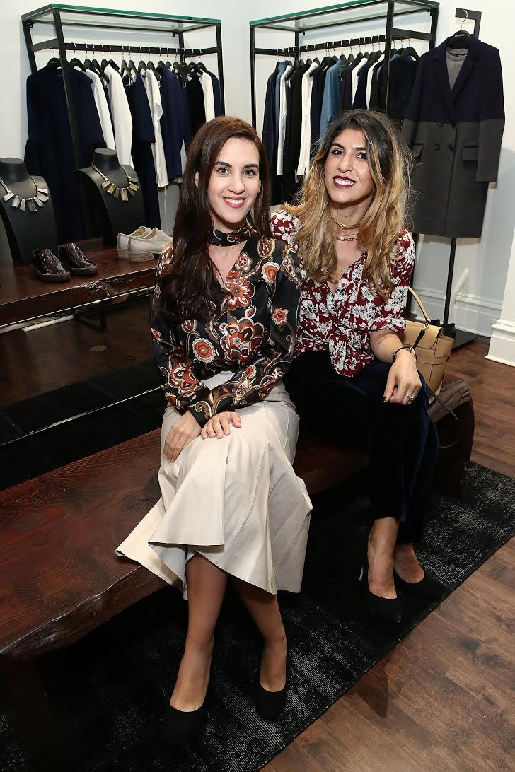 Last night with Natalie Zfat at the Lafayette 148 store opening. Photo by Astrid Stawiarz/Getty Images
