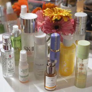 The backbone of my skincare routine essences toners and mists!hellip