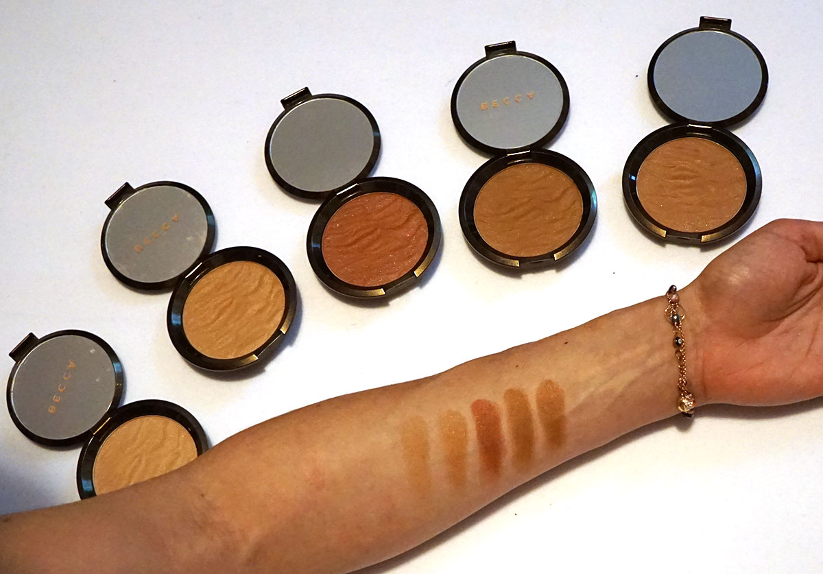 Becca Sunlit Bronzer Collection