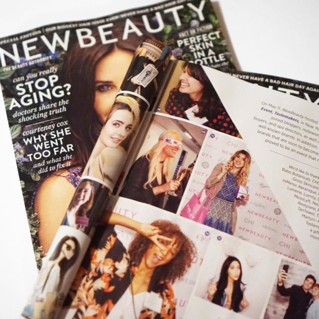 Hanging out on pg 89 of NewBeauty Magazine with thehellip