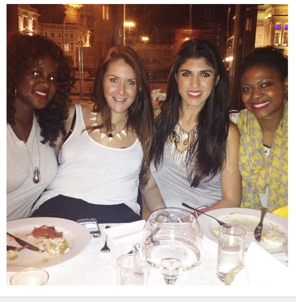 Danielle, Rachel, me and Felicia!