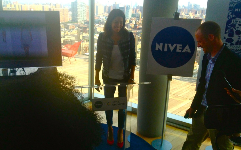 "Rebecca Minkoff at the launch of NIVEA ""Style, Uncapped"""