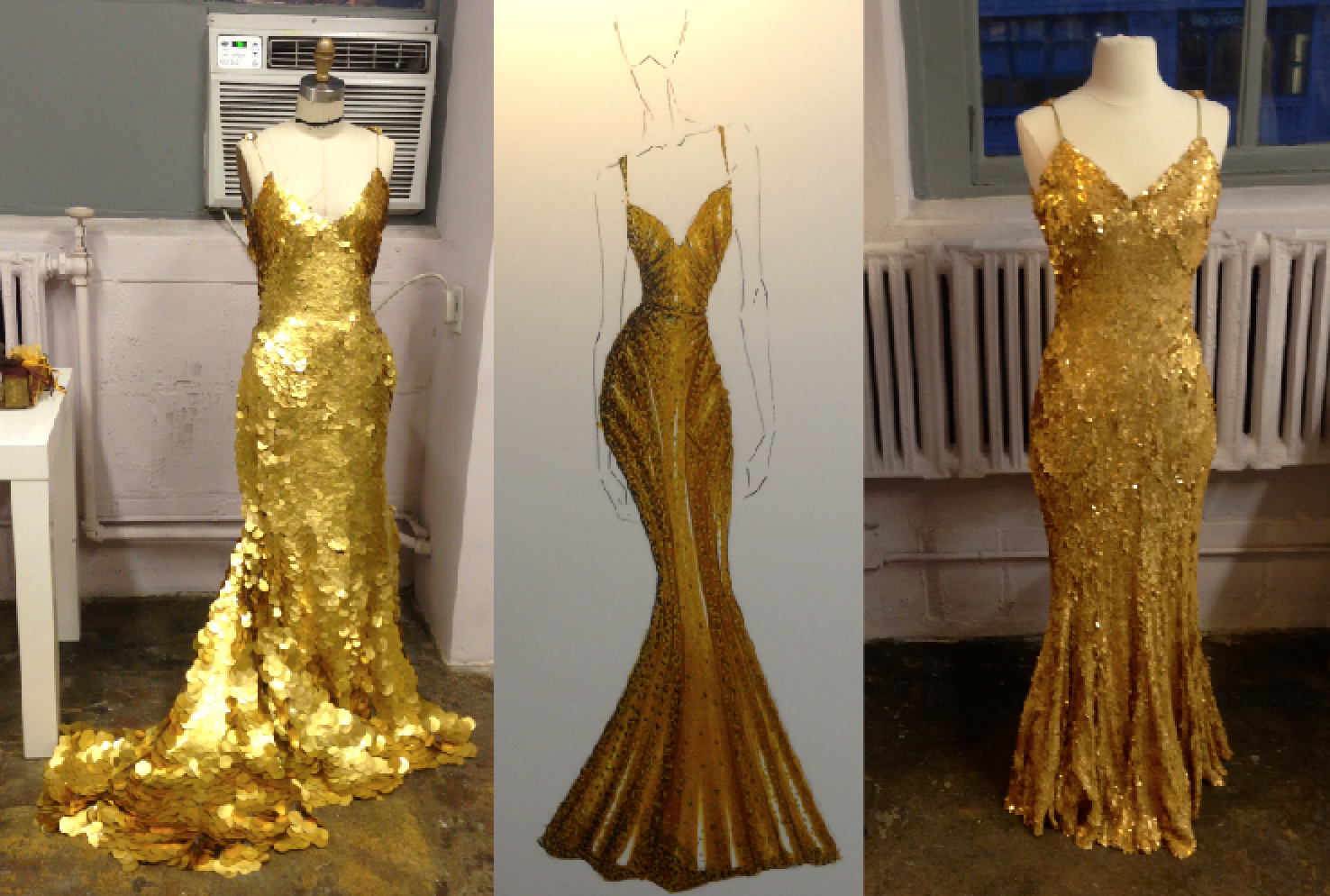 Expensive Gold Dresses