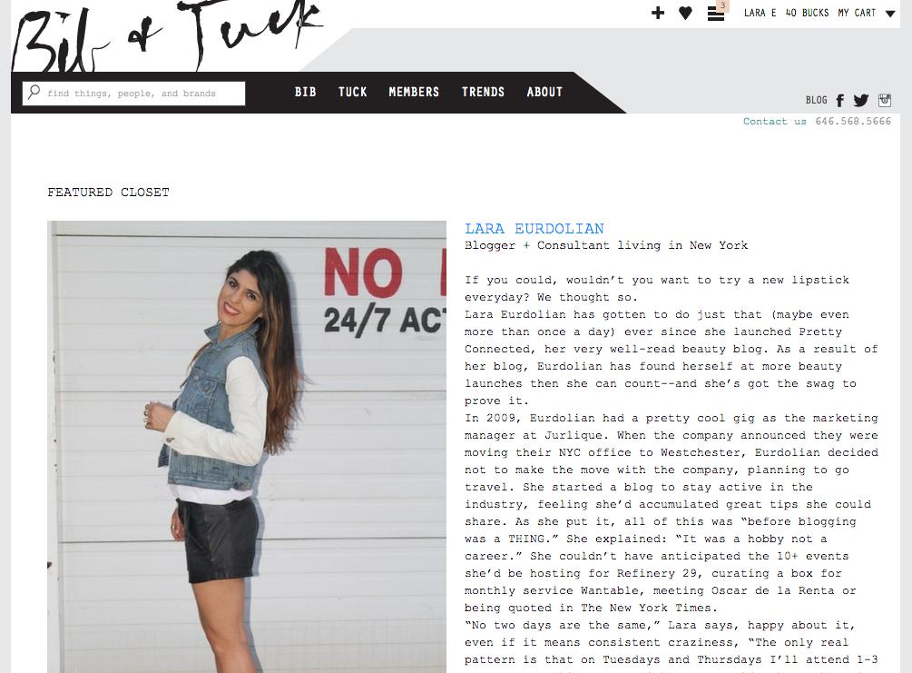 Bib+Tuk, Lara Eurdolian