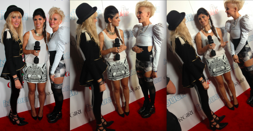 NERVO at In Touch's Icons+Idols event
