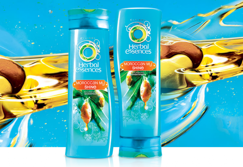 Herbal Essences Moroccan My Shine Shampoo and Conditioner