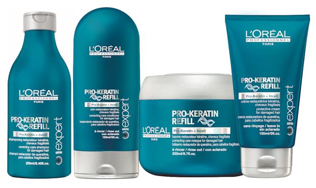 Loreal keratin treatment kit