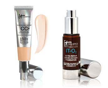 it cosmetics cc cream and foundation