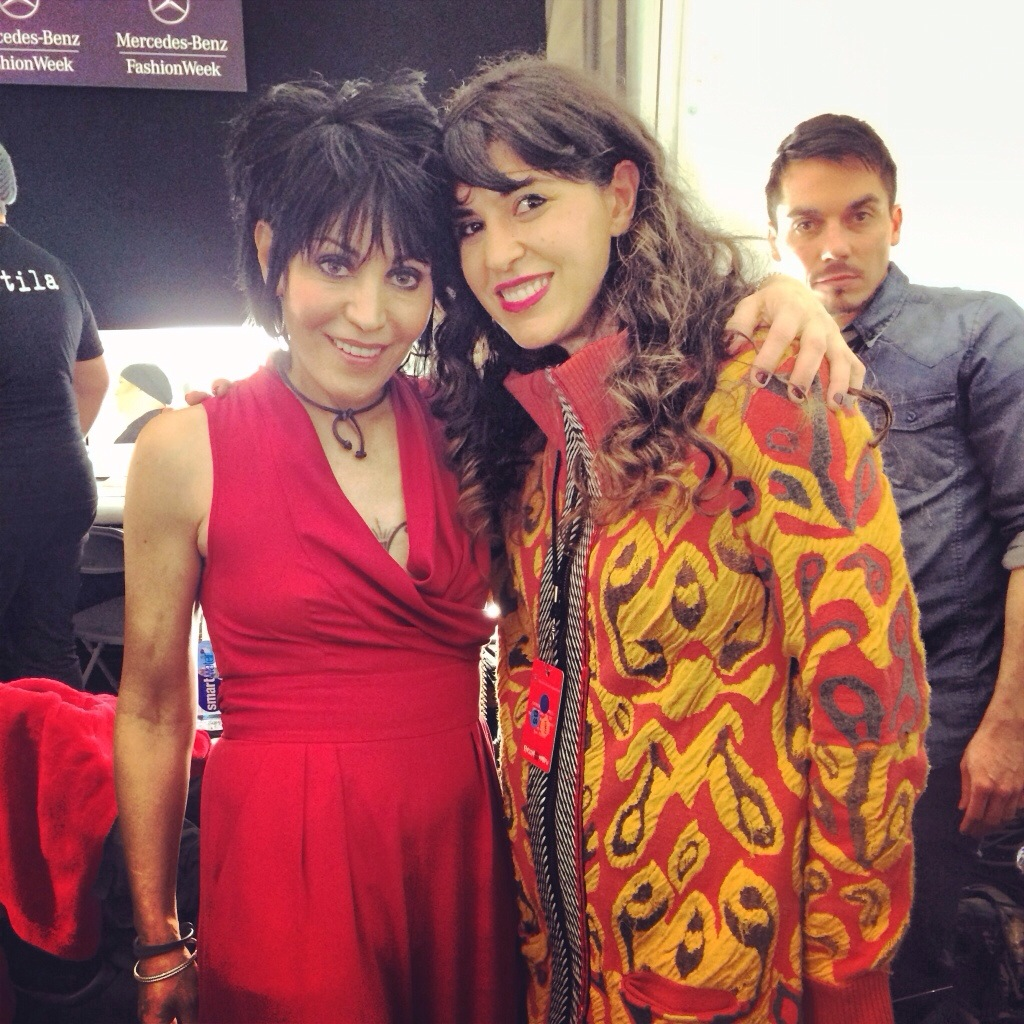 joan jett, lara eurdolian, fashion week