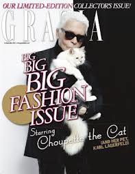 Choupette Lagerfeld Grazia