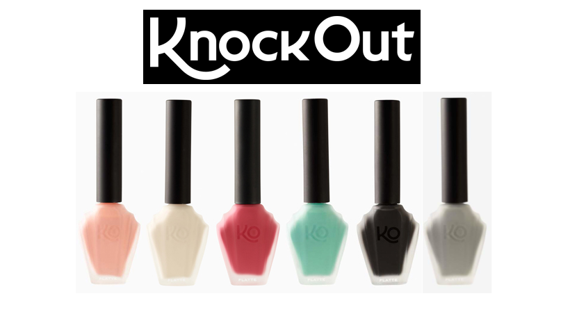 Knock Out nail polish giveaway