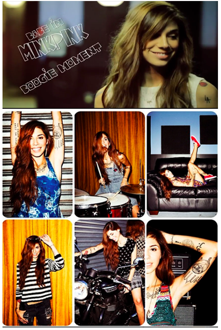 MINKPINK campaign with Christina Perri