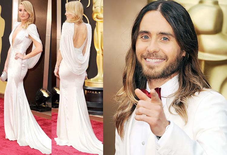 kate hudson and jared leto at Oscars 2014