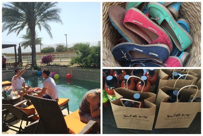 UGG pool party Coachella