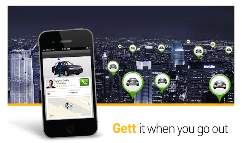 Car Service App: GETT This New Car Service App + $20 Discount Code For PC