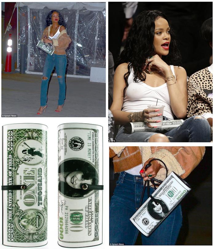 Rihanna Pat Field