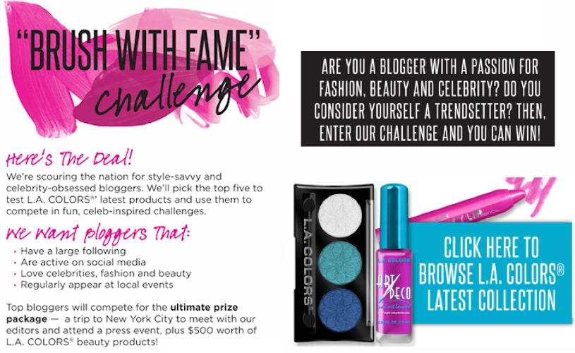 LA Colors In Touch Weekly Blogger Contest