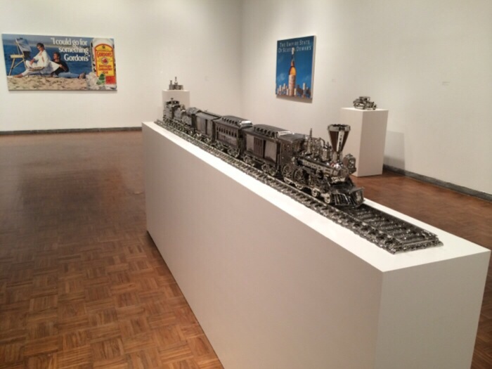 Jeff Koons Stainless Steal Train
